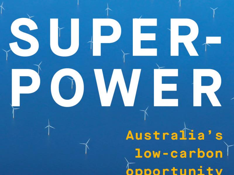 Superpower Australia S Low Carbon Opportunity Book Launch